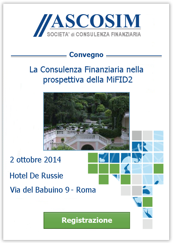 Convegno consulenza finanziaria nella for Hotel via del babuino